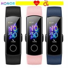 Honor Band 5 Smart Polsband Oximeter Bloed Zuurstof Kleur Screen Full Touch Hartslag Slag Detectie Slaap Voor Xiaomi