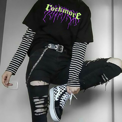 Estilo coreano mulher tshirts gráfico t-shirts dropshipping preto punk harajuku kpop gótico estético colheita superior feminino kawaii roupas