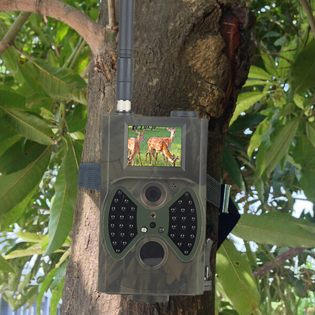 Skatolly HC300M Hunting Camera GSM 12MP 1080P Photo Traps Night Vision Wildlife infrared Hunting Trail Cameras hunt Chasse scout 5