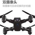 Heißer Verkauf Folding Quadcopter Mini Unmanned Aerial Vehicle Luftaufnahmen Doppel Kamera Geste Foto Schießen Optischen Fluss Lo auf