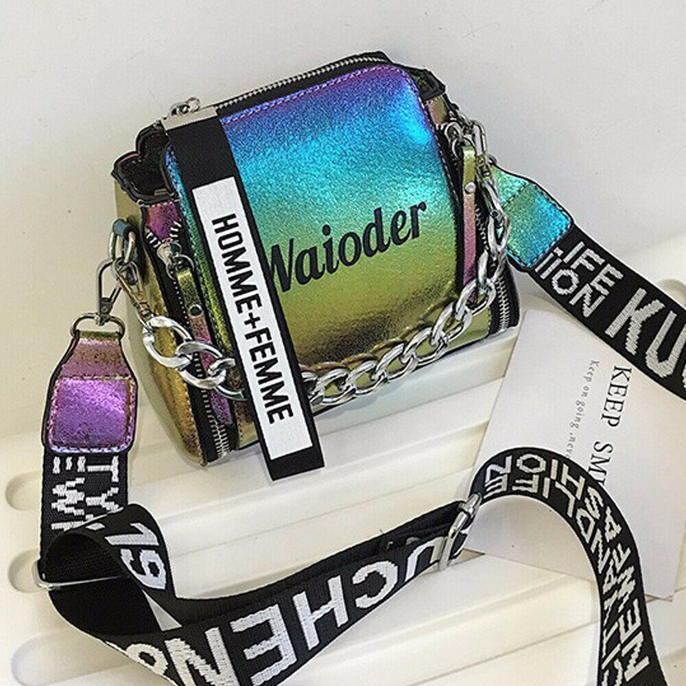 2020 Luxury Handbag Crossbody Women Shoulder Bag Tote Bag Female Handbags PU Leather Purse Messenger Cross Body Laser Bag Clutch