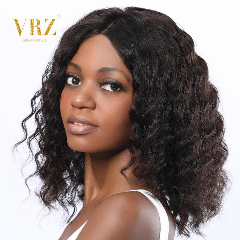 Bob Lace Front Wig 13X6 Loose Wave Brazilian Human Hair Fake Scalp Wig For Women Pre Plucked With Baby Hair High Ratio VRZ