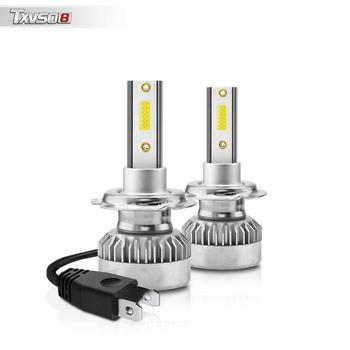 Universal 2Pcs Super bright LED Headlights White light H7 110W 6000K Car Driving Bulbs 70% Energy Saving Auto Car Accessories image