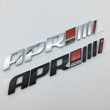 ملصق سيارة بلاستيك ABS ثلاثي الأبعاد ، مسرح منزلي ، شارات خلفية ، ملصق جانبي ، للجولف تيجوان S3 S5 S6 TTS RS7 ، 20X