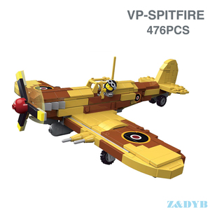 Image 5 - Military Vehicles Sets Tank Panzer Truck Airplane WW2 Mini Soldier Weapon Locking Model Building Blocks Brick Children Kids Toys
