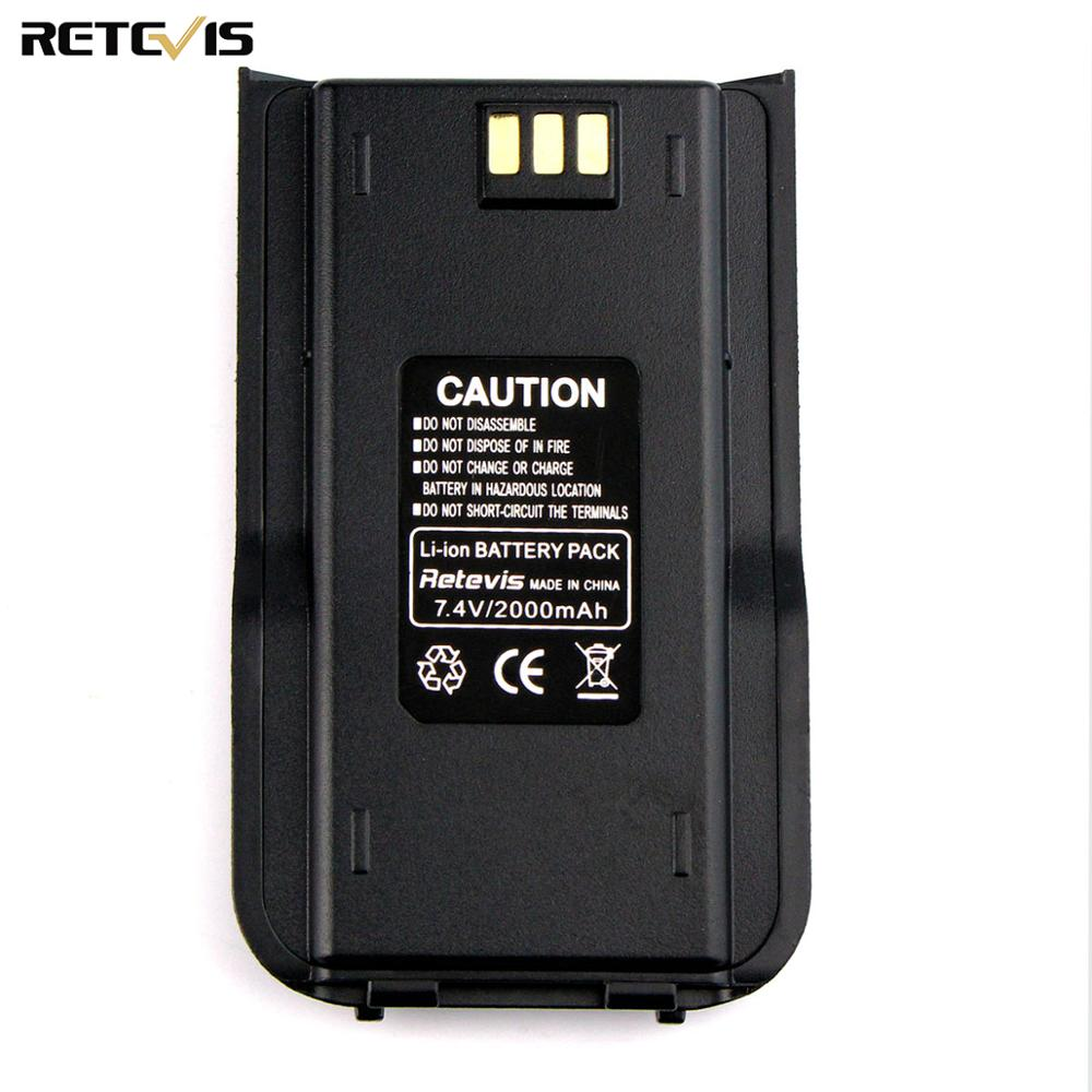 Original New Li-ion Radio Battery 2000mAh For TYT/Tytera MD-380 Retevis RT3 RT3S Two Way Radio Walkie Talkies Accessories