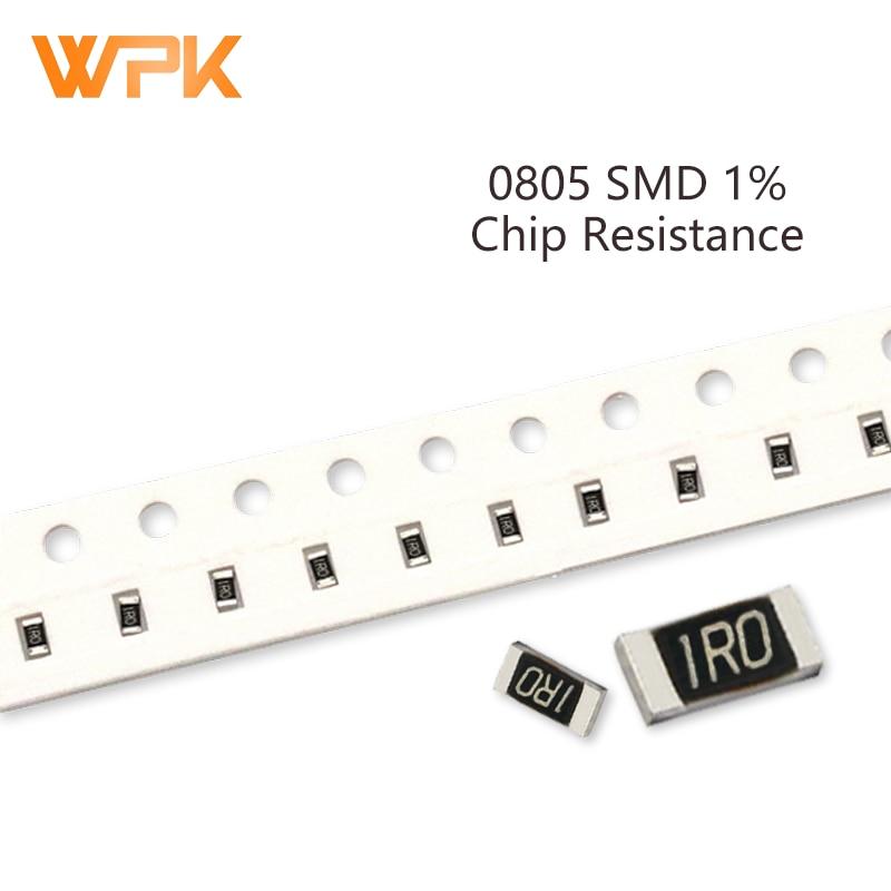 Комплект резисторов 100 SMD 0805, погрешность 1%, 0R-392R 100R 110R 120R 130R 150R 160R 10 Ом, электронные компоненты «сделай сам», набор в ассортименте, шт.