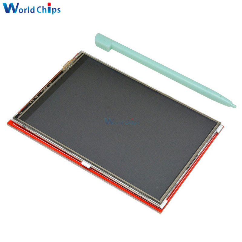 3.5 inch <font><b>480x320</b></font> 480*320 <font><b>TFT</b></font> LCD <font><b>Touch</b></font> Screen For UNO Mega2560 Board Plug and Play for Arduino LCD Module Display Board Module image