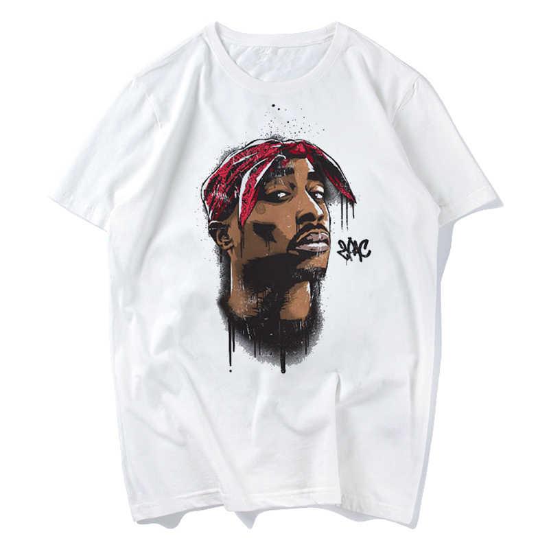 2pac Tupac Áo Makaveli Rapper Hip Hop Eminem Áo Thun Snoop Dogg Drake Lớn Chơi Chữ Smalls Trò Chơi Savage Âm Nhạc rap Nam Đầu Tee