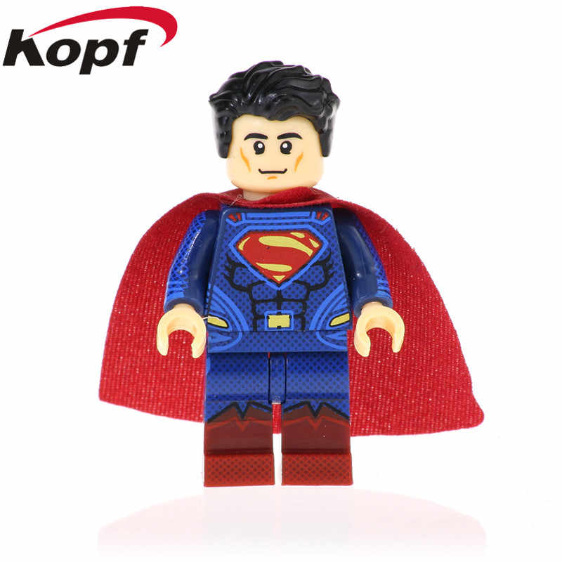 Single Sale Super Heroes Superman Movie Version Superman Building Blocks Action Figures Learning Toy Gifts For Children XH 959