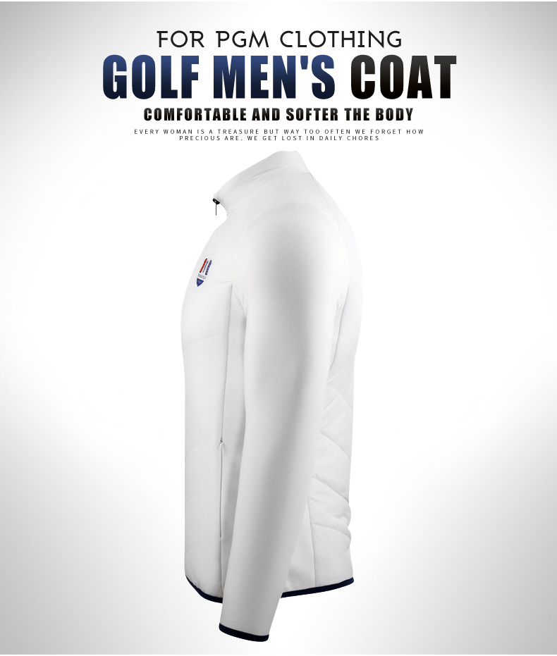 Pgm novo casaco de golfe dos homens