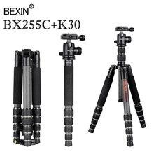 цена на Carbon fiber Professional Camera Tripod Adjustable Adapter Monopod Travel Portable Lightweight Tripod for DSLR Digital Camera