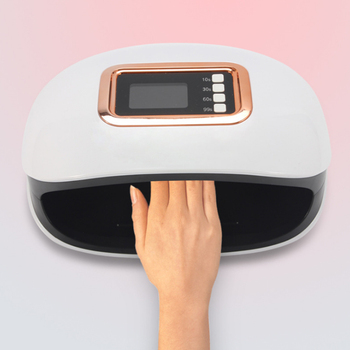 Foyying-Lámpara UV de 72W para uñas, lámpara LED con 36 LED, dos mandos, secador de manicura