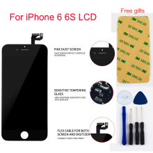 For iPhone 6 LCD iPhone6S LCD Display Panel Module + Touch Screen Digitizer Sensor Assembly for elephone vowney lite touch screen sensor with lcd display panel assembly 100