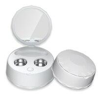 Tragbare Ultraschall Kontaktlinsen Reiniger Auto Fall Tägliche Pflege Linsen Lösung