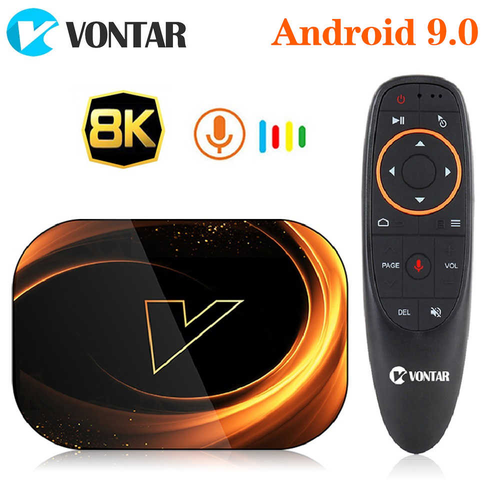 2020 TV Box Android 9 Vontar X3 4GB 128GB 8K Android Smart TV Box 9.0 Amlogic S905X3 wifi 1080P 4K Set Top Box 4GB 64GB 32GB