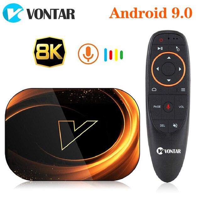 2020 VONTAR X3 4GB 128GB 8K TVBOX Amlogic S905X3 Smart TV BOX Android 9.0 Wifi 1080P 4K Android TV Set Top Box 4GB 64GB 32GB