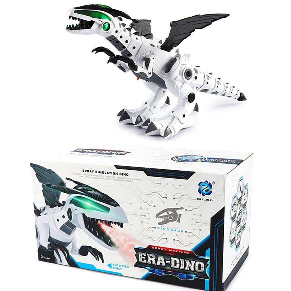 Spray Mechanical Dinosaur Toy Simulation Spitfire Electric Dinosaur Toy Model Children's Electric Toys
