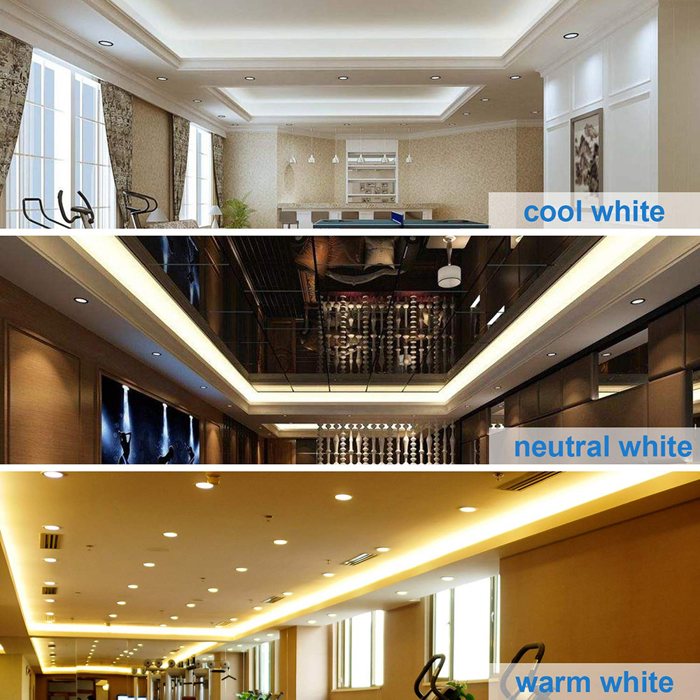 Bande lumineuse étanche, 60 220 s/m, ruban 5050 avec prise d'alimentation européenne, 1M/2M/3M/5M/6M/8M/9M, LED V LED ruban LED/10M/15M 6