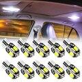 10x без Ошибок T10 светодиодный светильник W5W 2825 для Dacia Duster Logan MCV Sandero Stepway Dokker Lodgy