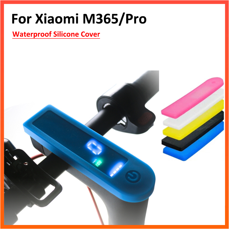 Waterproof Protective Cover Display Screen Case Dash Board Panel Protection for Xiaomi M365 and M365 Pro Electric Scooter