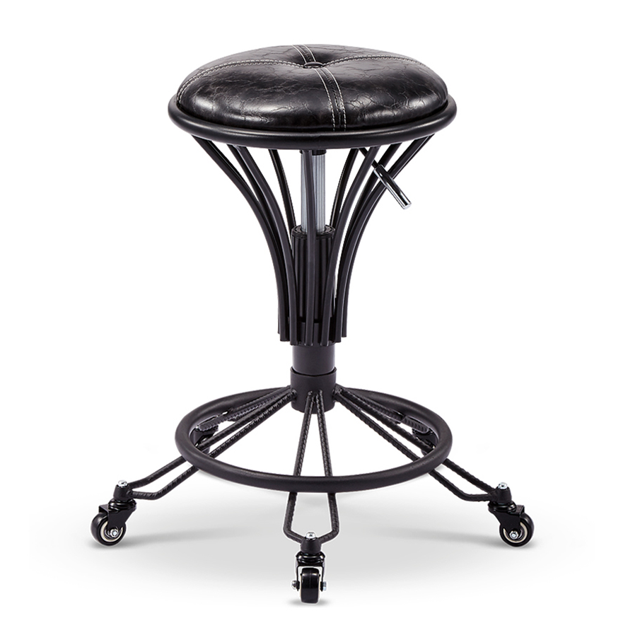 Hairdressing Workbench Rotating Lifting Beauty Stool Hairdressing Chair Chair Barber Shop Stool Makeup Hair Salon Manicure Stool