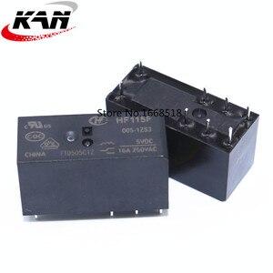Image 2 - 10pcs Relay HF115F 005 1ZS3 HF115F 012 1ZS3 HF115F 024 1ZS3 250V 16A relay 8 pin relay 5V/12V/24VDC relay