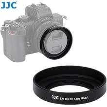 JJC المعادن المسمار في عدسة هود لكاميرا نيكون Z50 + Nikkor Z DX 16 50 F/3.5 6.3 VR عدسة استبدال نيكون HN 40 عدسة الظل حامي