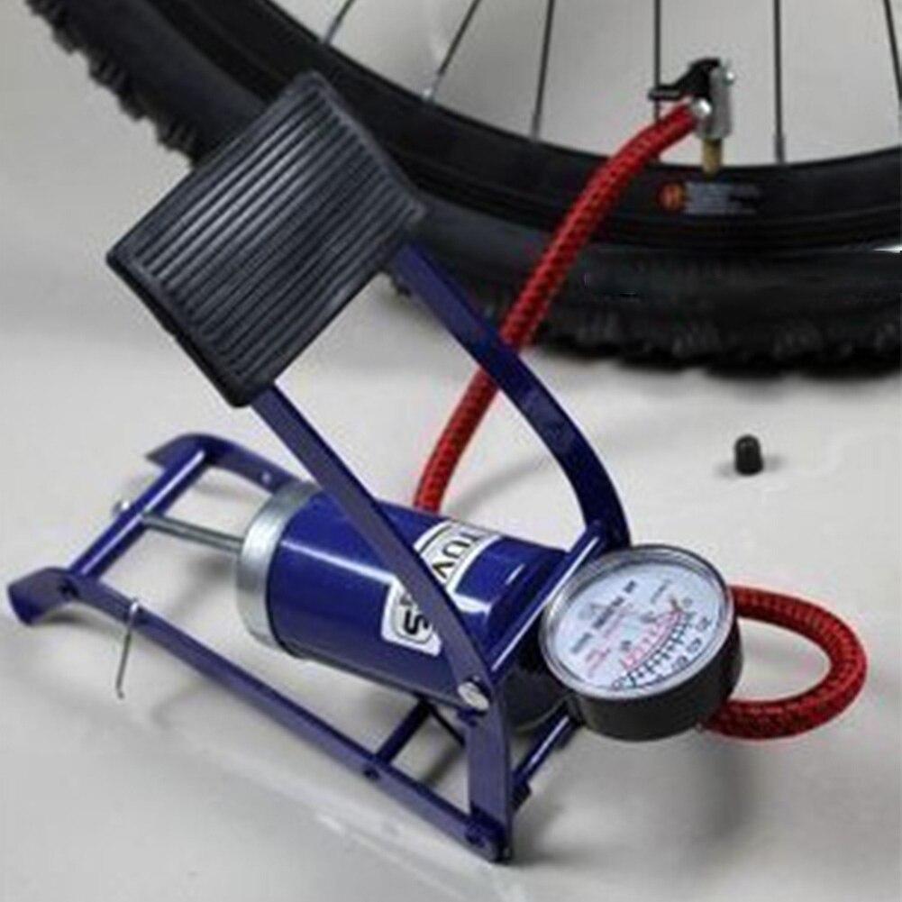 Ножной воздушный насос высокого давления для автомобиля, мотоцикла, велосипеда, надувной шарик, надувная лодка, надувной инструмент с баром...