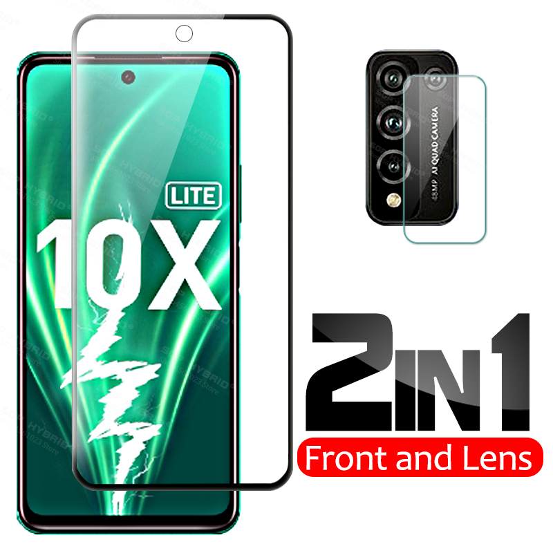 1 ~ 2 шт. защитное стекло Honor 10X Lite закаленное стекло 9D защита экрана Honor10X светильник 10i Honor 10 X Lite защитная пленка