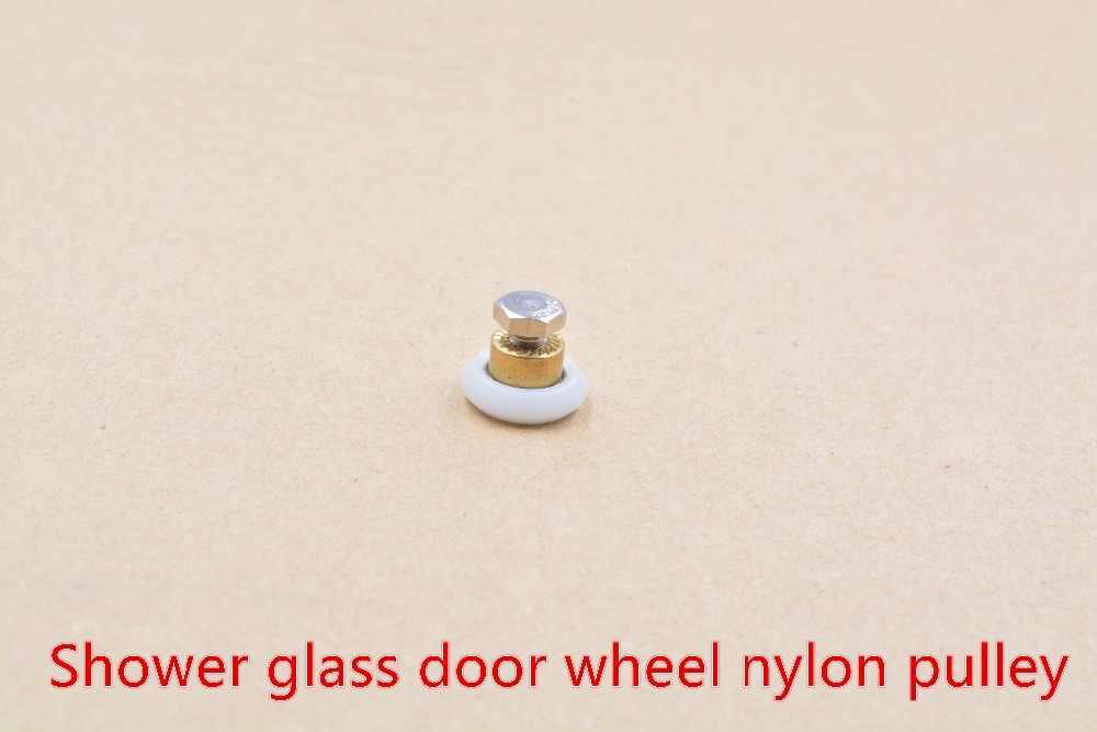 3D طابعة كوسيل K800 التبعي قطرها 20 مللي متر 23 مللي متر 25 مللي متر 27 مللي متر صغيرة بكرات التمرير عجلات دش باب زجاجي عجلة بكرة النايلون