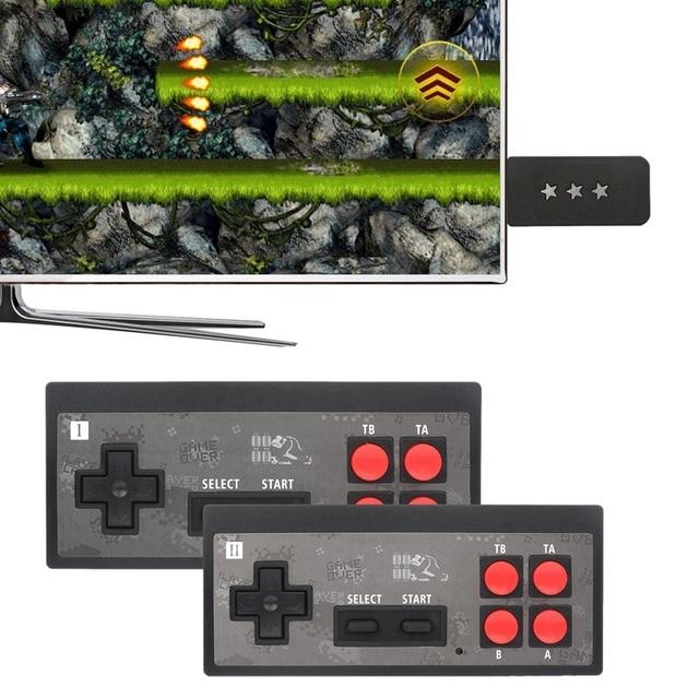 Home وحدات التحكم بالألعاب HD TV وحدات التحكم بالألعاب Y2 + HD لعبة فيديو وحدات التحكم بالألعاب اللاسلكية لعبة وحدة التحكم