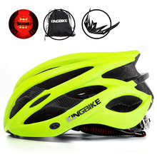 KINGBIKE kask rowerowy rower zielony superlekki kask rowerowy w formie MTB z daszkiem oddychająca droga rower górski kask tanie tanio (Dorośli) mężczyzn J-652 About 237g 20 Integrally-molded Helmet capacete ciclismo casco ciclismo cycling helmet Men Women Road Mountain Helmet