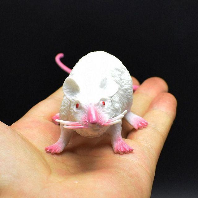 1pc Antistress faux souris anti-Stress Gag jouet Simulation nouveauté drôle souris accessoires modèle jouet blague astuce pratique Gag jouets