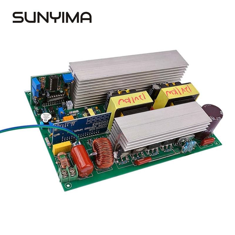 SUNYIMA 1000W DC12V 220V inversor de energía Solar de onda sinusoidal pura transformador de núcleo con solo conectar la batería 4-Canal Digital transceptor óptico video-fibra de modo único convertidor de fibra óptica FC 20KM