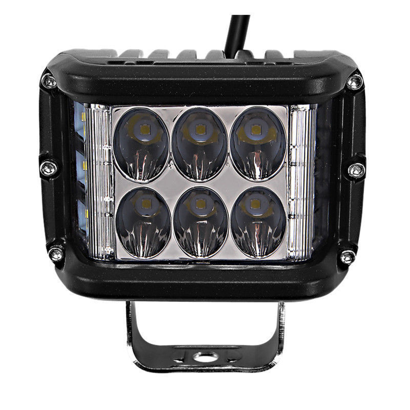2pcs Aluminum Alloy Case Work Lights Waterproof IP67 LED Light Bar Spot Lights Headlight Off Road Tractor Work Lamp 45W 6000K in Truck Light System from Automobiles Motorcycles