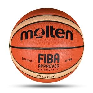 Image 1 - Mais novo profissional bola de basquete tamanho 6 material do plutônio com presente gratuito alta qualidade treinamento infantil esportes basquete baloncesto