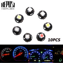 10x  T4.7 Neo Wedge 5050 SMD LED Bulb Dash A/C Climate Control Instrument Light white red blue green yellow for Dodge Ram