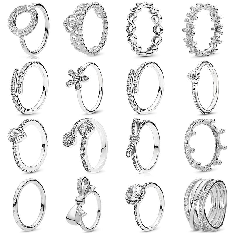30 стилей, цирконий, подходит для прекрасных колец, кубическое модное ювелирное изделие, свадебное Женское Обручальное кольцо, пара, кристальная Корона, вечерние кольца, подарок