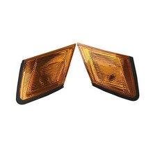 זוג איתות מנורת פינת אור עבור טויוטה סימן Gx90 1990 1991 1992 צהוב לבן