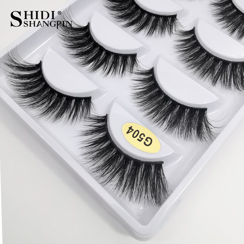 Long 10 Boxes Eyelashes Wholesale False Eyelashes Makeup Full Lashes Natural Mink Eyelashes Wholesale 3d Mink Lashes Faux Cils