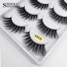 Long 10 Boxes Eyelashes Wholesale False Eyelashes Makeup Full Lashes Natural Mink Eyelashes Wholesale 3d Mink Lashes faux cils