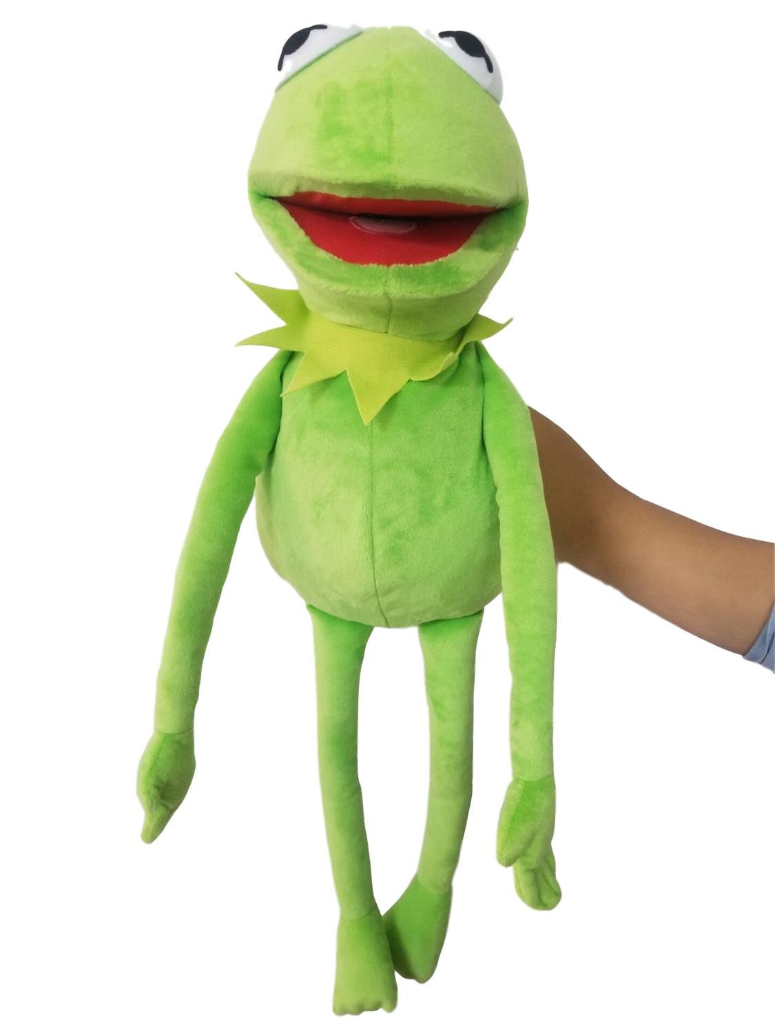 Sesame Street The Muppet Show Large 60cm Kermit Frog Puppets Plush Toy Doll Stuffed Toys For Kids Christmas Gift