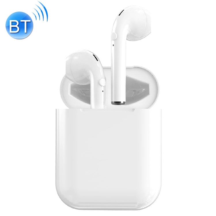 I9 Wireless TWS Sport Bilateral Stereo Bluetooth 5.0 Headset With Charging Box Earphone With Mic Charging Box Sport Headset