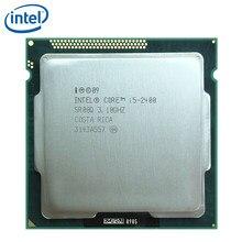 Intel processador quad-core, processador de i5-2400 ghz quad-core cpu 6m 95w lga 2400 testado 3.1, intel core 1155 i5 100% ghz trabalhando