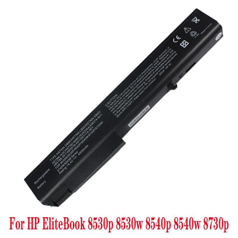 BATTERIA per HP EliteBook 8530p 8530W 8540P 8540W 8730P 8740W ProBook 6545b 8 CELLE