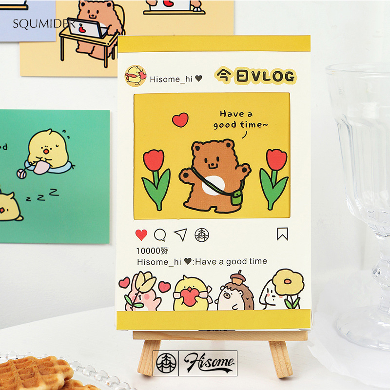 30pcs 2020 New Postcards Creative Gift Cute Greeting Gifts Card Message Labe Blessing Card  Writing Gift Postcards For Girls