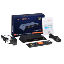 H.265 GTmedia V8 PRO2 1080P DVB-T2/S2/Cable/S2X CCcam Cline Spain Satellite TV Receiver Upgrade Nova suppor iptv