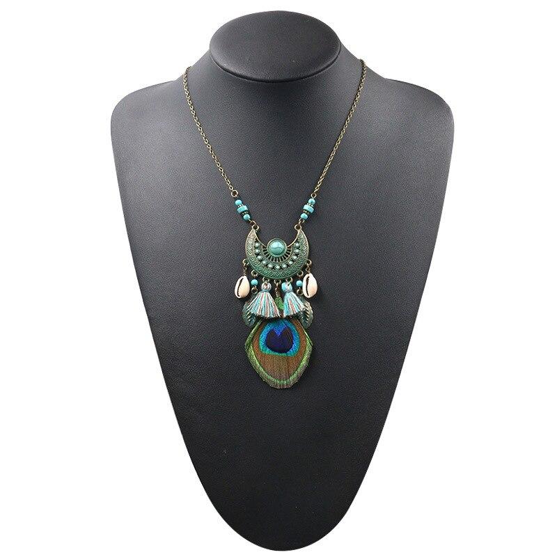 Collier Attrape Rêves Fantaisie Turquoise Bijoux femme bohème capteurs de rêves style chic boho amérindien fantaisie