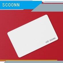 UID IC карта Сменные смарт-брелоки клон карта для 1K S50 RFID 13,56 МГц блок контроля доступа секторный записываемый 10 шт
